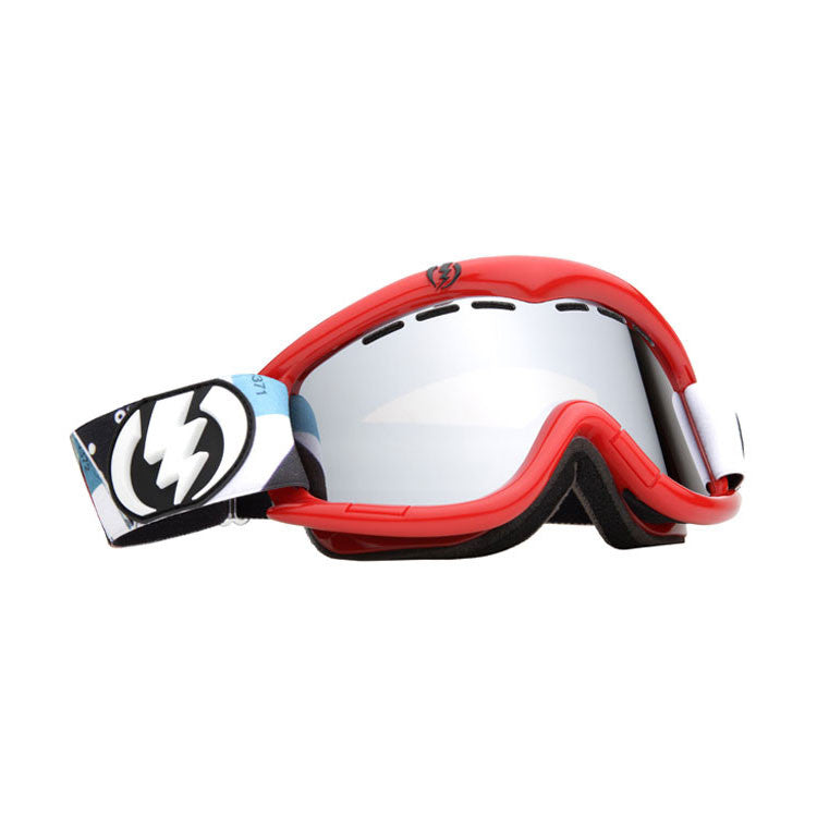 Electric EG1 2011 - Corpo Camo Red Frame - Silver / Chrome Lens - Snowboard Goggles
