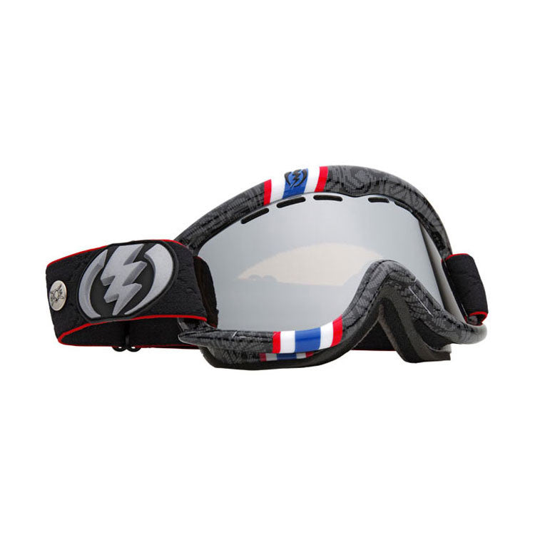 Electric Andreas Wiig - EG1 2011 - Bronze Frame - Silver / Chrome Lens - Snowboard Goggles