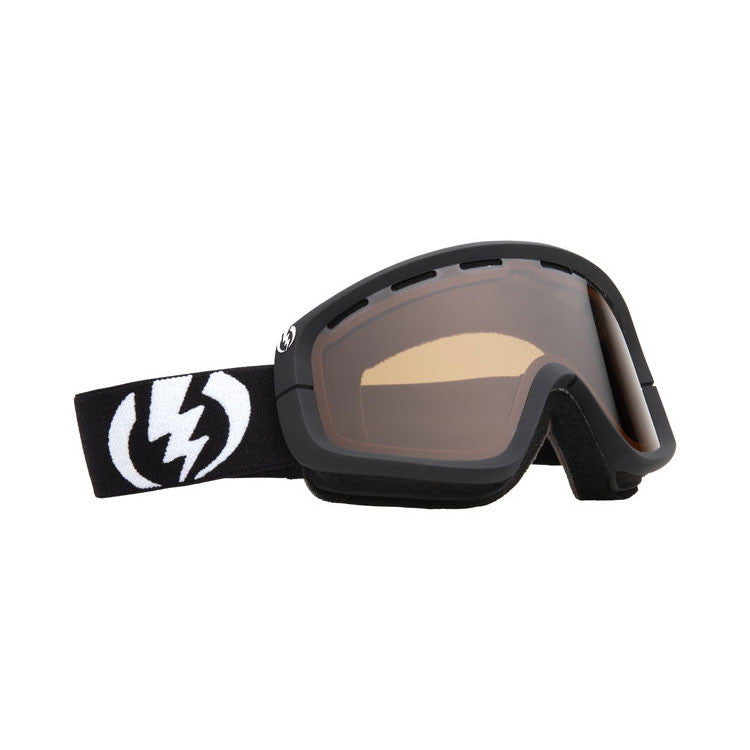 Electric EGB 2011 - Gloss Black Frame / Bronze Lens - Snowboard Goggles
