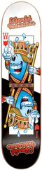 World Industries One Eyed Willy - Black/White - 7.5 - Skateboard Deck