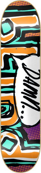 Blind OG Damn Bubble - Orange/Teal - 7.9 - Skateboard Deck