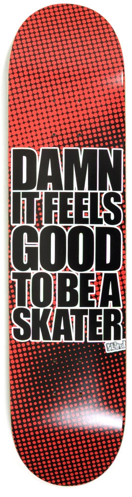 Blind Damn SS Halftone - Black/Red - 7.6 - Skateboard Deck