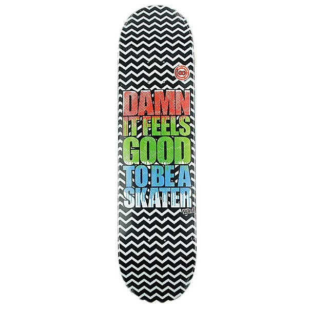 Blind Damn SS Zig Zags - Black/White - 8.0 - Skateboard Deck