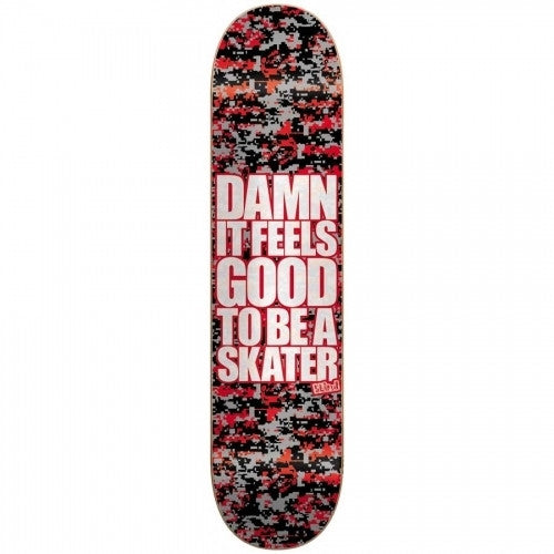 Blind Damn SS Digi Camo - Red/Grey/Black - 8.25 - Skateboard Deck