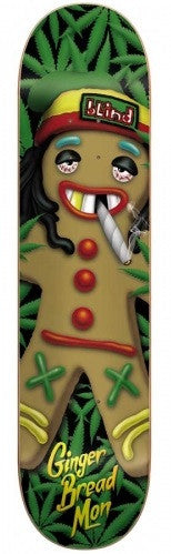 Blind Ginger Bread Mon SS - Green - 8.0 - Skateboard Deck