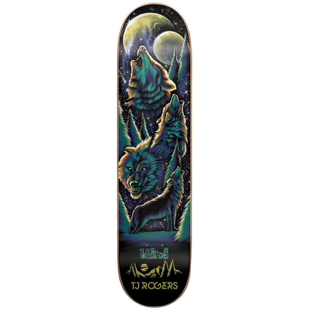 Blind TJ Rogers Wolf Pack R7 - Black - 8.0 - Skateboard Deck
