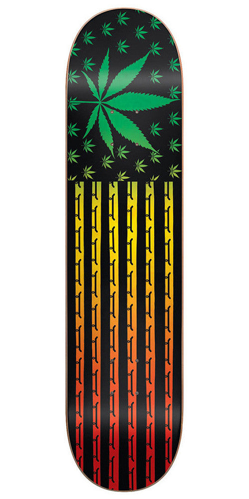Blind High Roller SS - Rasta - 8.0 - Skateboard Deck