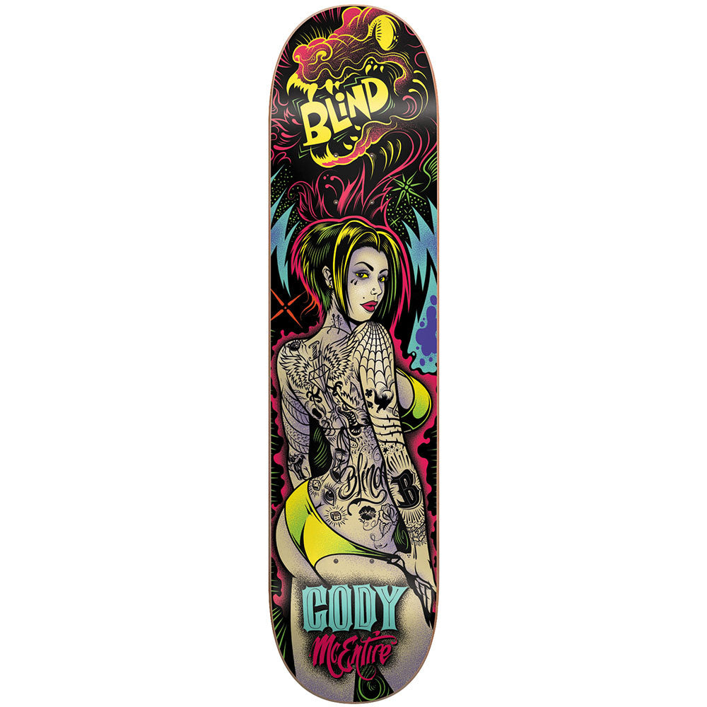 Blind Cody McEntire Ultra Violet R7 - Multi - 8.0 - Skateboard Deck