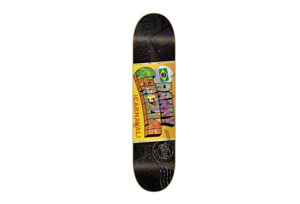 Blind Postcard Series Cerezini - Black/Yellow - 7.6 - Skateboard Deck
