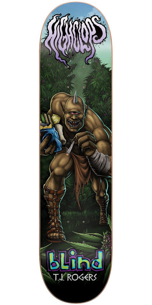 Blind TJ Rogers Myth Series R7 - Multi - 8.25in - Skateboard Deck