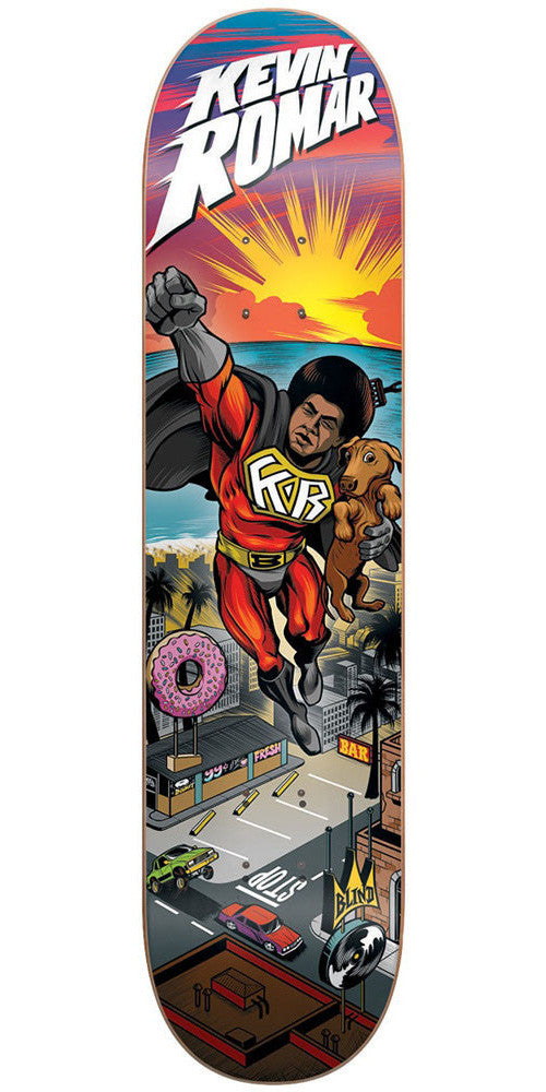 Blind Super Romar R7 - Multi - 7.75in - Skateboard Deck