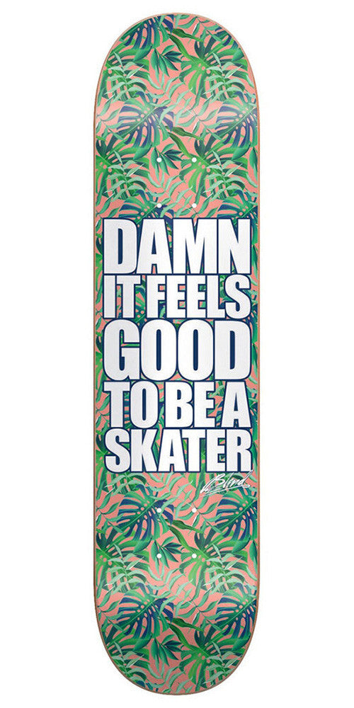 Blind Damn Plantlife HYB - Green - 8.0in - Skateboard Deck