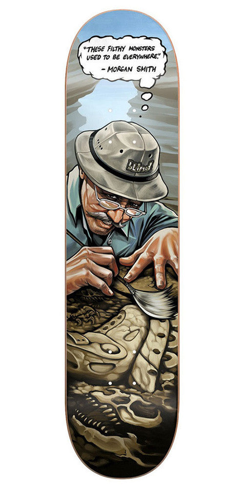 Blind Morgan Extinct R7 - Multi - 8.25in - Skateboard Deck