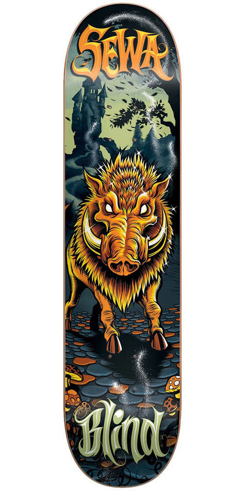 Blind Sewa Golden Boar R7 - Multi - 8.25in - Skateboard Deck