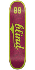 Blind Athletic Skin SS - Plum - 7.75in - Skateboard Deck