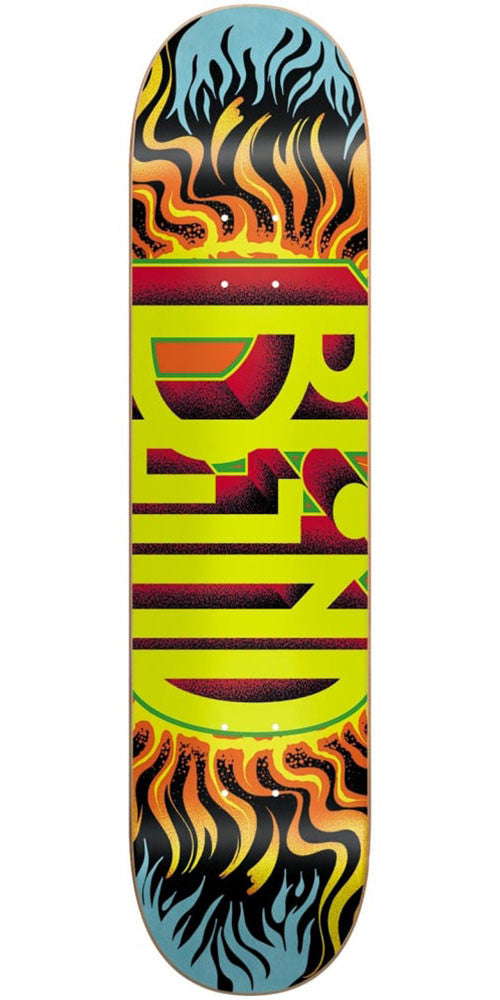 Blind Fuego RHM - Black - 7.75in - Skateboard Deck