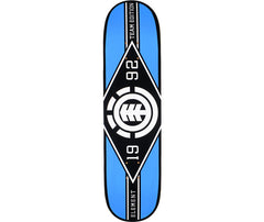 Element Major League PP - Black/Blue - 8.25 - Skateboard Deck