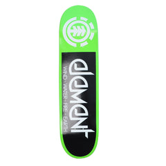 Element Fractal PP - Green - 8.0 - Skateboard Deck