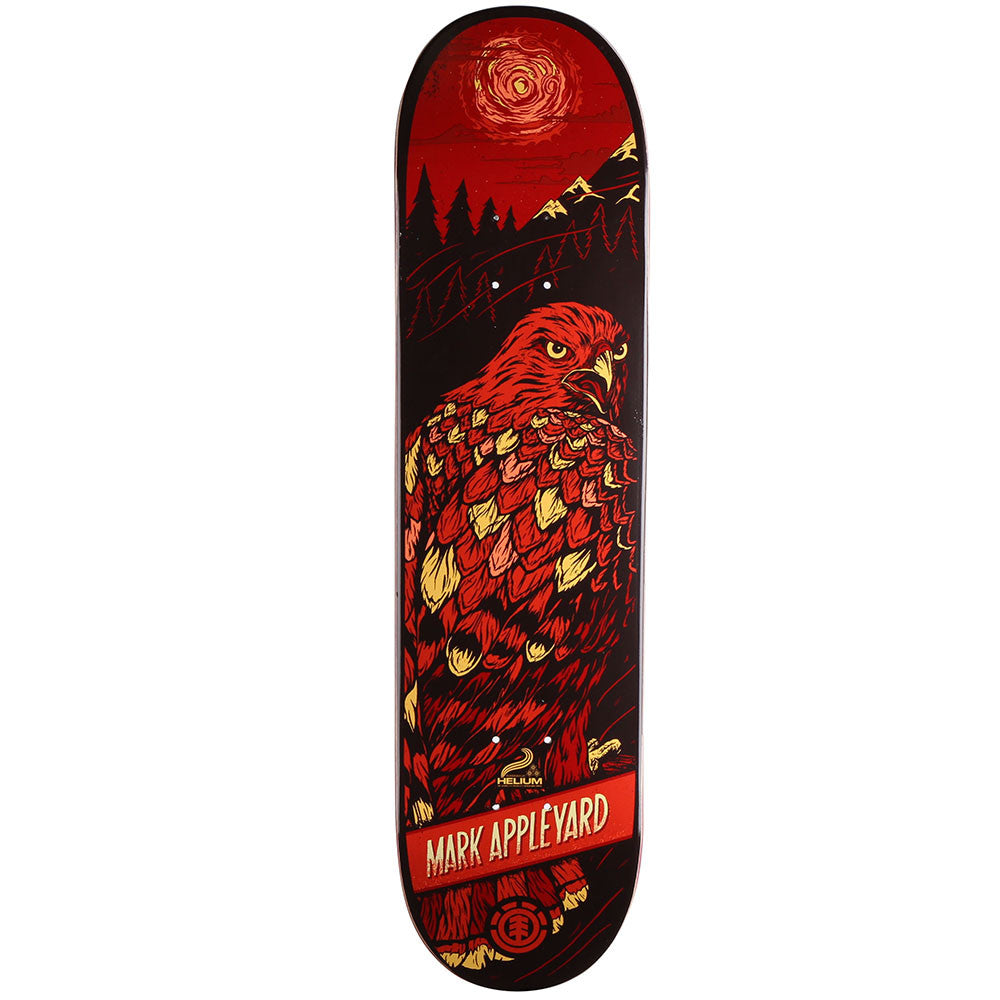 Element Appleyard Prey Helium - Red - 8.0 - Skateboard Deck