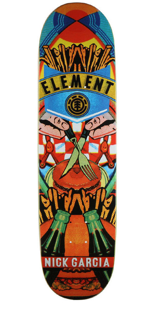 Element Garcia Big Business - Multi - 8.3 - Skateboard Deck