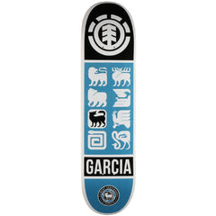 Element Garcia Ascend - Blue - 8.0 - Skateboard Deck