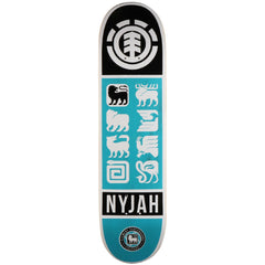Element Nyjah Ascend - Blue - 8.0 - Skateboard Deck