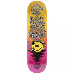 Black Label Coffee Watkins - Yellow/Pink - 8.68 - Skateboard Deck