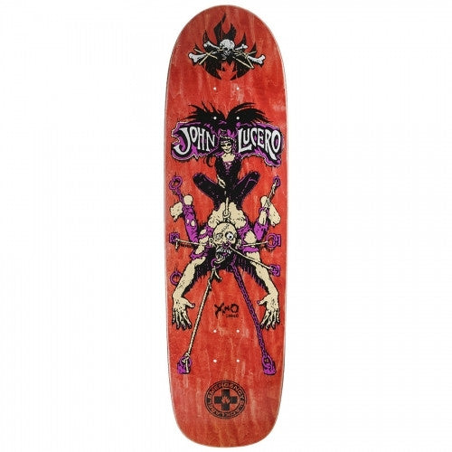 Black Label  Emergency Torture Lucero - Assorted - 8.75 - Skateboard Deck