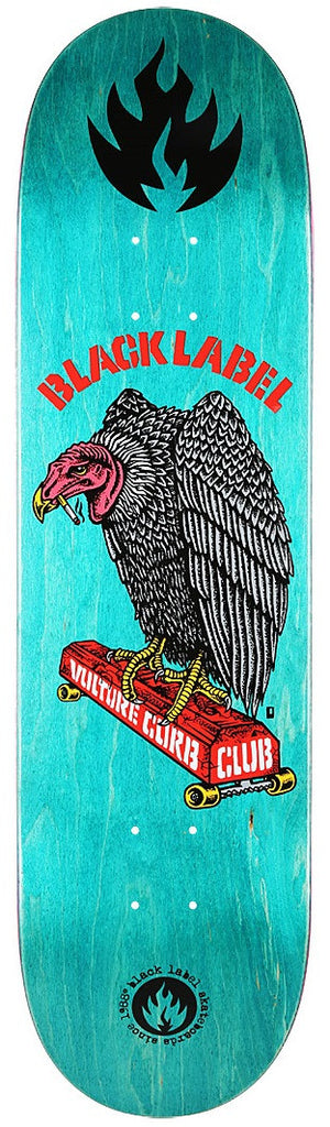 Black Label Vulture Curb Club - Assorted - 8.5 - Skateboard Deck