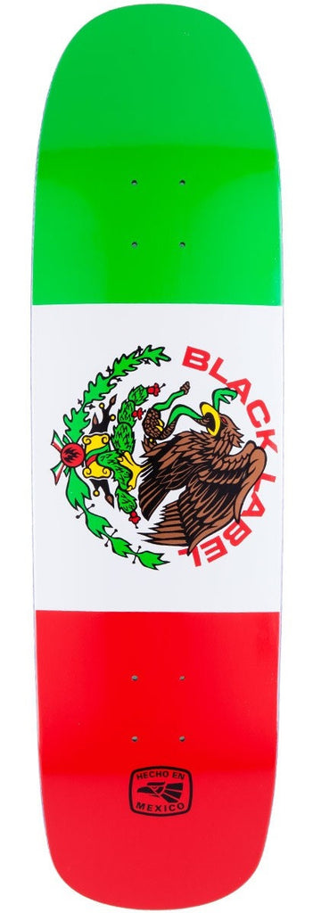 Black Label Super Mex - Red/White/Green - 8.75 - Skateboard Deck