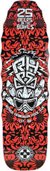 Black Label Emergency 25 Beers - Red/White/Black - 9.5 x 32.875 - Skateboard Deck