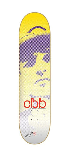 Blemished Alien Workshop Dyrdek CBB Medium - White/Yellow - 7.75 - Skateboard Deck