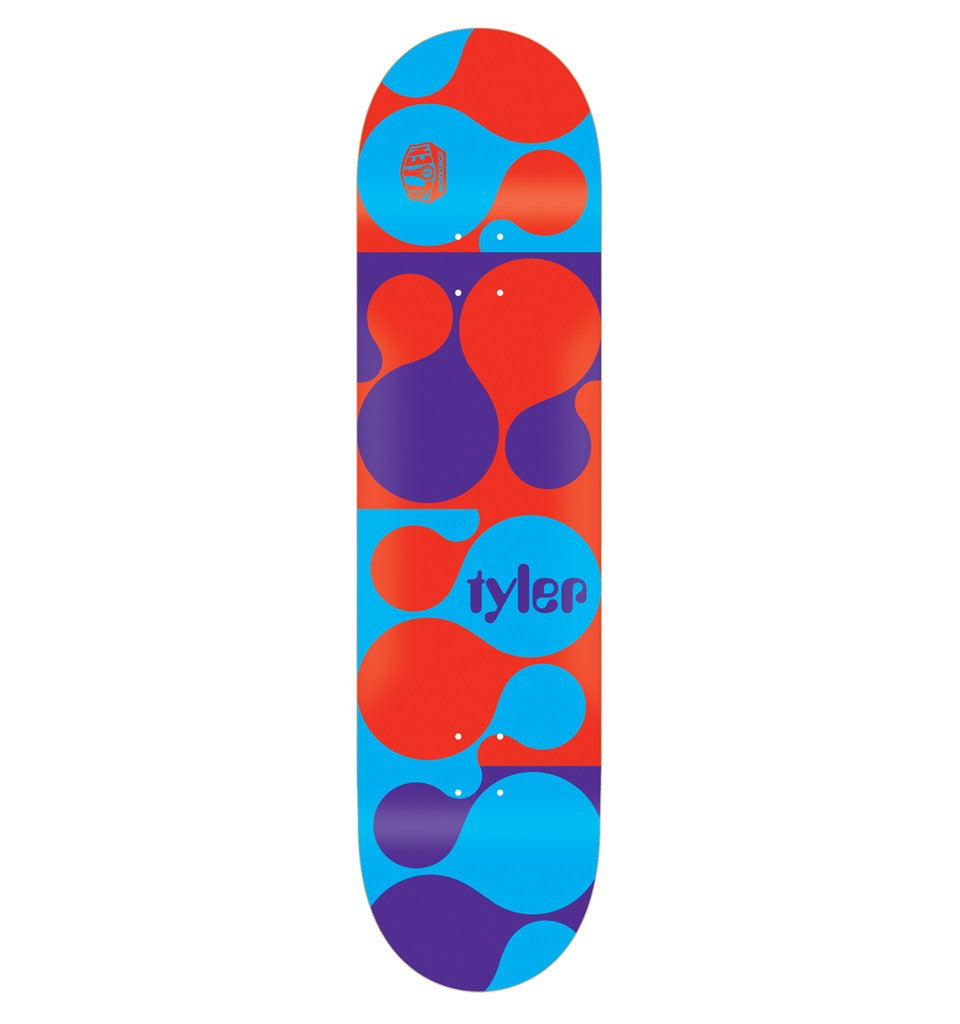 Alien Workshop TB Blinko Small - Red/Blue/Purple - 7.875 - Skateboard Deck