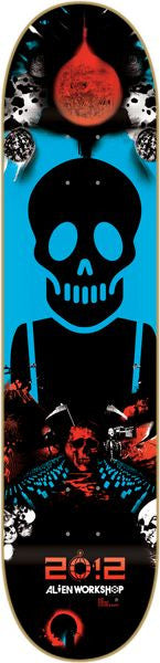 Alien Workshop KTC Disaster - Black/Blue - 8.125 - Skateboard Deck