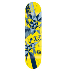 Alien Workshop Exp JJ Tri - Yellow/Blue - 8.0 - Skateboard Deck