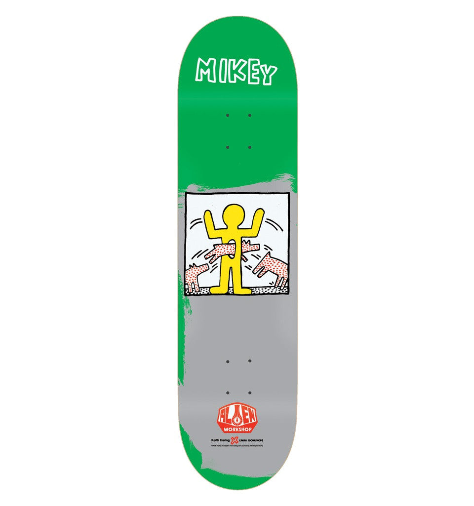 Alien Workshop MTaylor Haring Series II - Green - 8.125 - Skateboard Deck