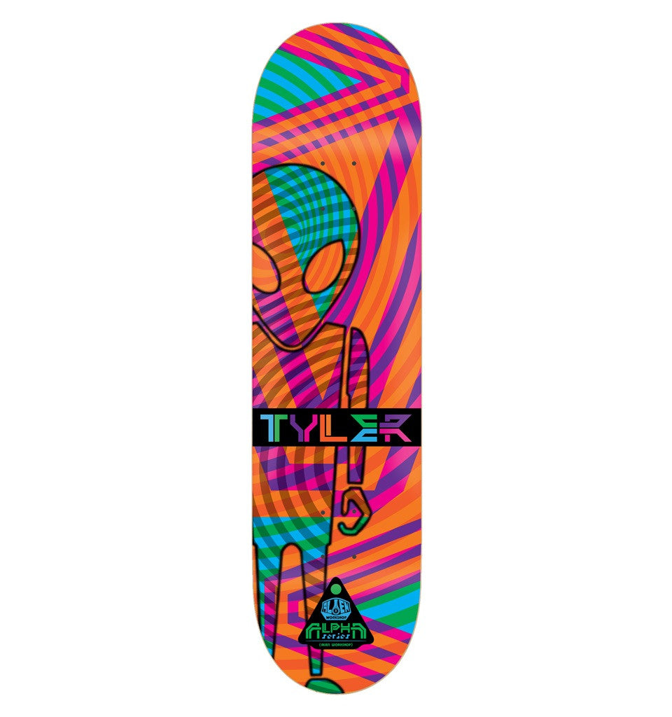 Alien Workshop Bledsoe Alpha - Orange - 8.0 - Skateboard Deck