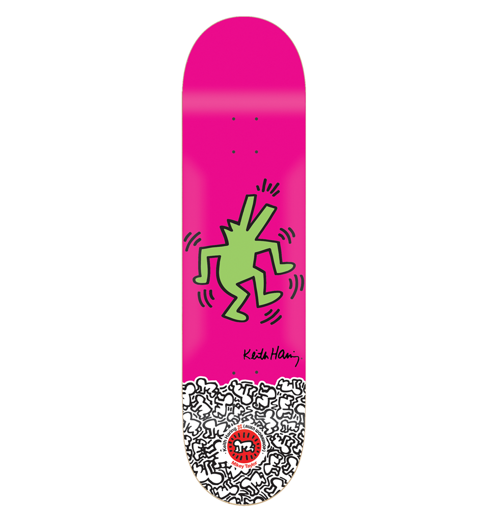 Alien Workshop MTaylor Haring - Pink - 8.0 - Skateboard Deck