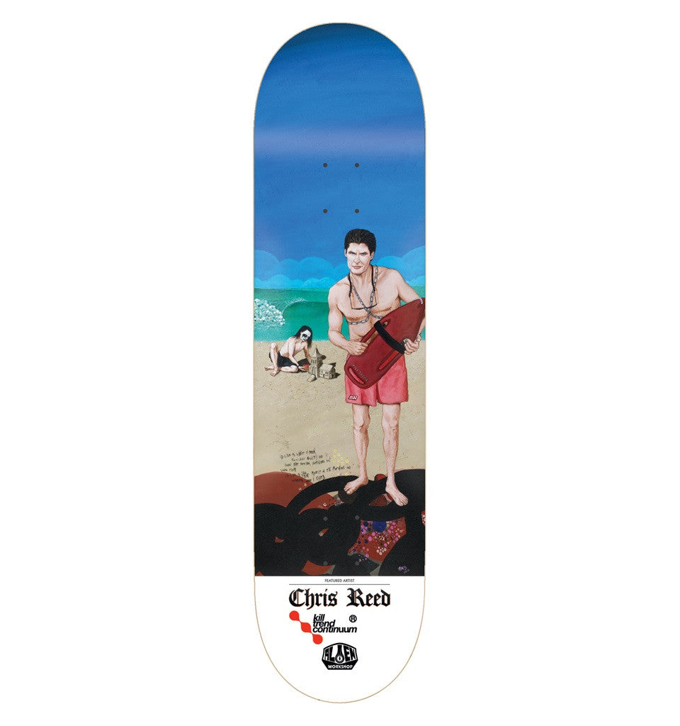Alien Workshop Chris Reed KTC II - Blue/Multi - 8.125 - Skateboard Deck