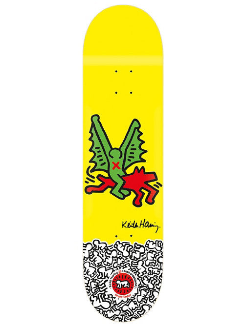 Alien Workshop Haring GTaylor - Yellow - 8.125 - Skateboard Deck