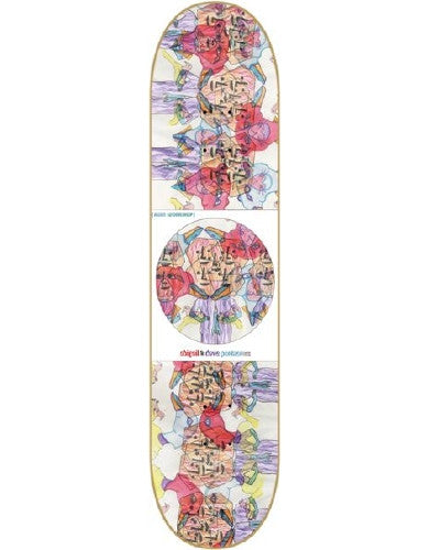 Alien Workshop Portner KTC Ladybird - White/Multi - 8.125 - Skateboard Deck