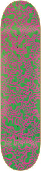 Alien Workshop Haring Repeating Baby Small - Green/Pink - 8.0 - Skateboard Deck