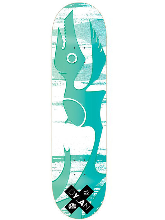 Alien Workshop Rieder Acid Reign - White/Green - 8.125 - Skateboard Deck
