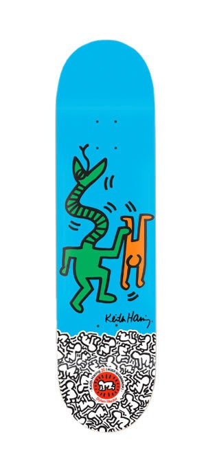 Alien Workshop Keith Haring Dylan Rieder - Blue - 8.0 - Skateboard Deck