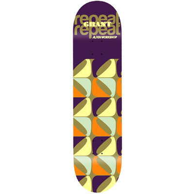 Alien Workshop Grant Taylor Repeat - Purple/Multi - 8.125 - Skateboard Deck