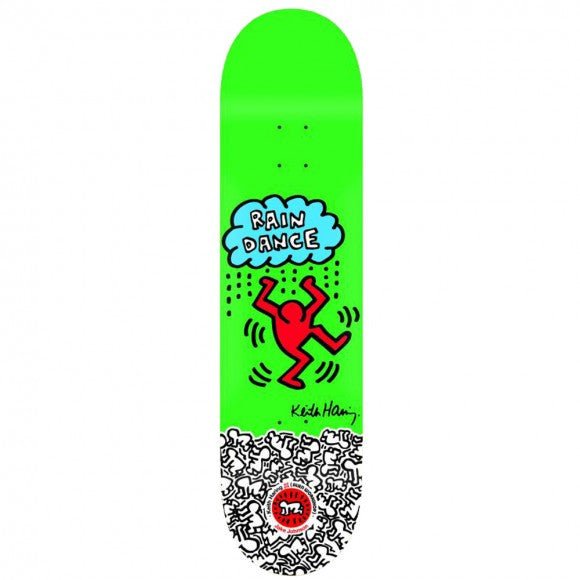 Alien Workshop Keith Haring Jake Johnson - Green - 8.5 - Skateboard Deck