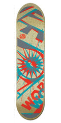 Alien Workshop Glyph Hex Mark Large - Multi - 8.25 - Skateboard Deck