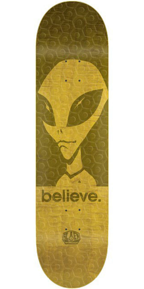 Alien Workshop Believe Hexmark Small - Assorted - 8.0in - Skateboard Deck