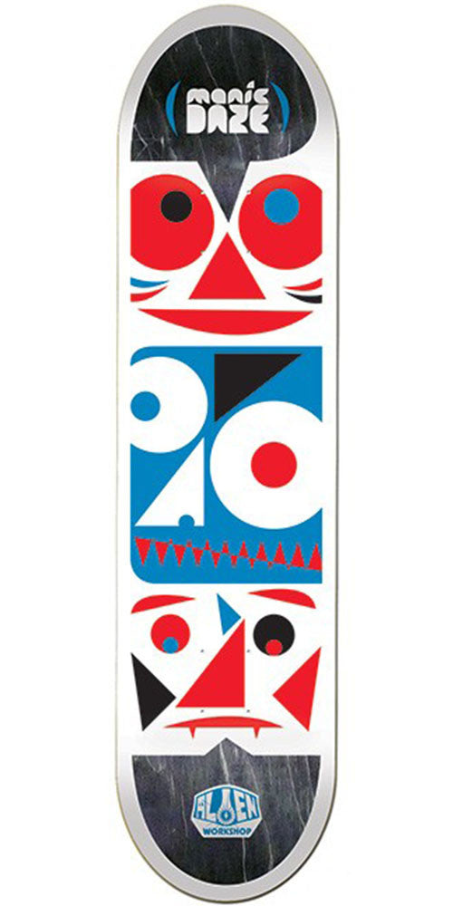 Alien Workshop Manic Daze Medium - White - 8.125in - Skateboard Deck