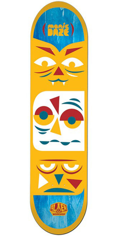 Alien Workshop Manic Daze Large - Orange - 8.5in - Skateboard Deck